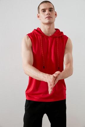 TRENDYOL MAN Kırmızı Erkek Atlet TMNAW21AL0007