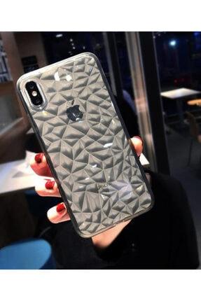 Molly Iphone Xs Max Uyumlu Füme Kristal Şeffaf Silikon Kılıf