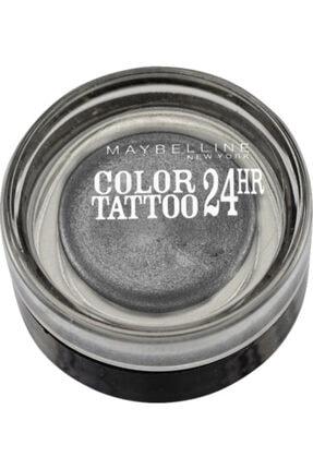 Maybelline New York Color Tattoo 24 Hr 55/ımmortal Charcoal Göz Farı