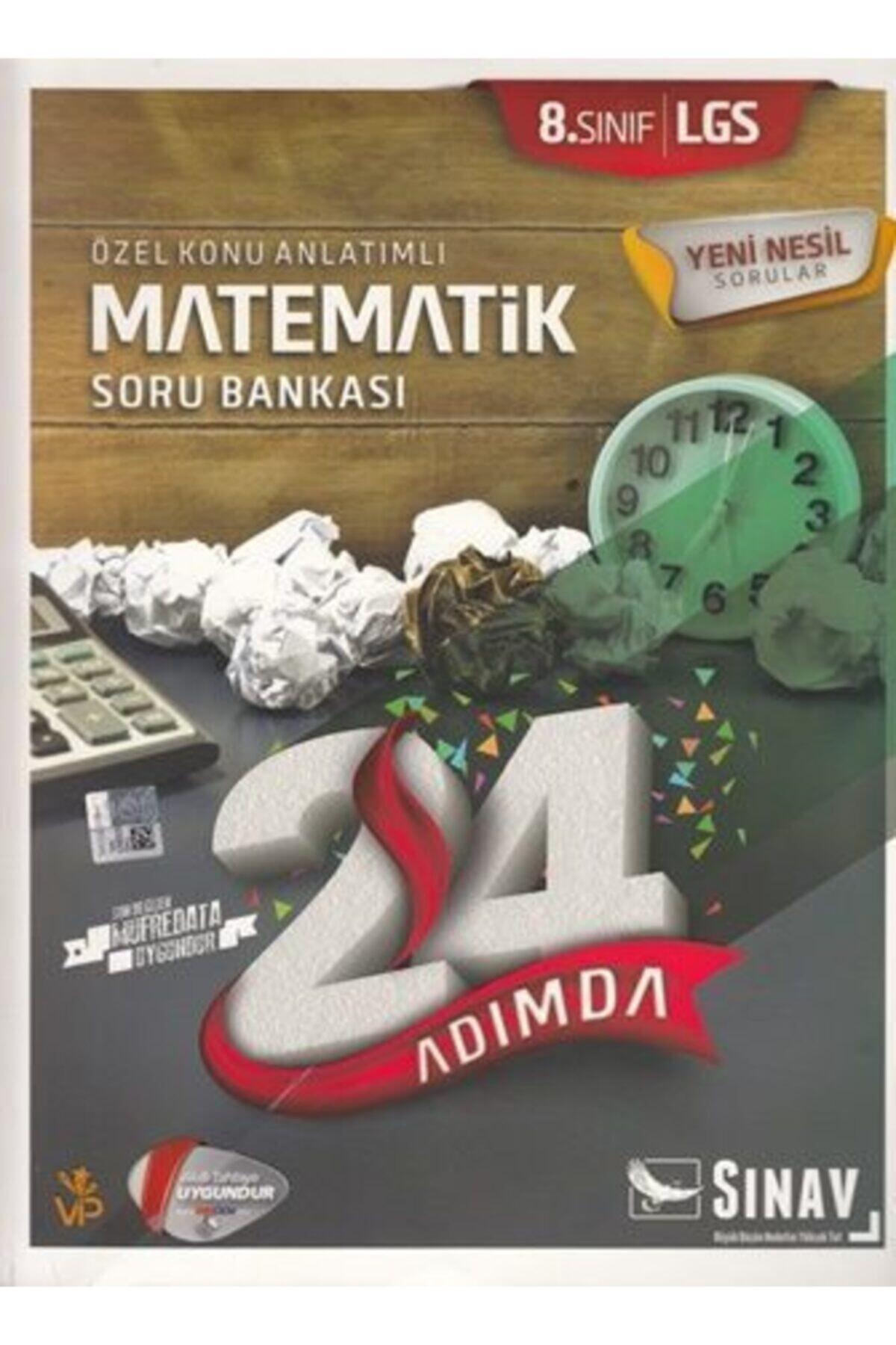 Sınav Yayınları 8.sınıf Sınav Matematik Konu Anlatımlı Soru Bankası 1
