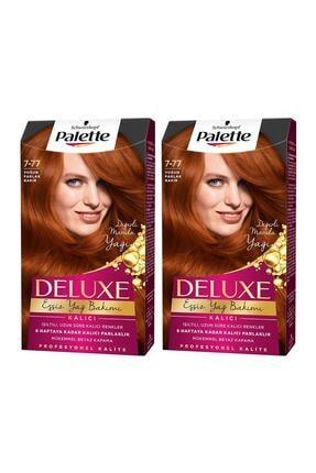 Palette Deluxe 7-77 Yoğun Parlak Bakır  X 2 Adet