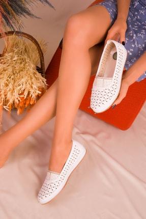 SOHO Beyaz Kadın Casual Ayakkabı 16183