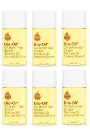 Bio-Oil Natural Cilt Bakım Yağı 60 Ml X6 Adet