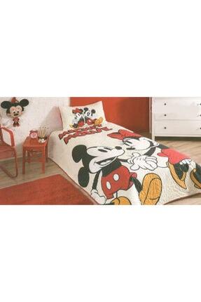 Özdilek Mickey Mouse Lovely Lisanslı Tek Kişilik Yatak Örtüsü Takımı Yatak Örtüsü