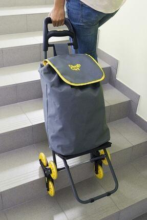 Climb Merdiven Çıkabilen Pazar Alışveriş Arabası