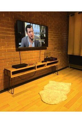 Retro Ahşap Tv Sehpası Televizyon Sehpası