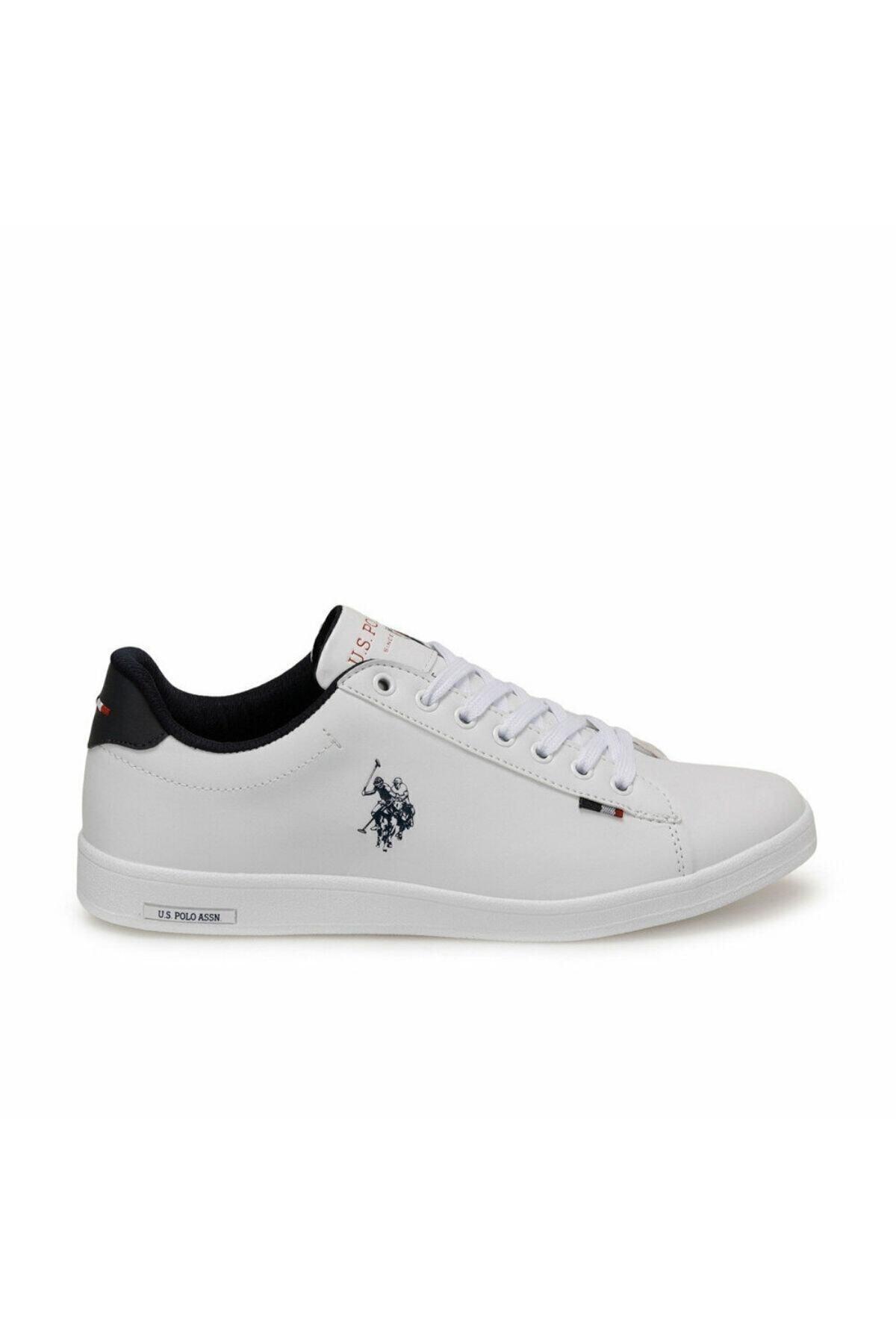 U.S. Polo Assn. FRANCO Beyaz Erkek Sneaker Ayakkabı 100249743 2