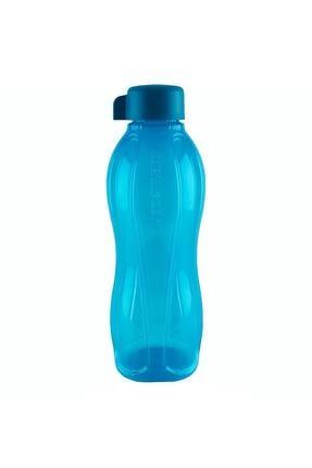 Tupperware Eko Şişe Mavi Vidalı Kapak 310 ml