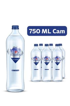 Uludağ Premium Su Cam Şişe 750 Ml X 6 Adet