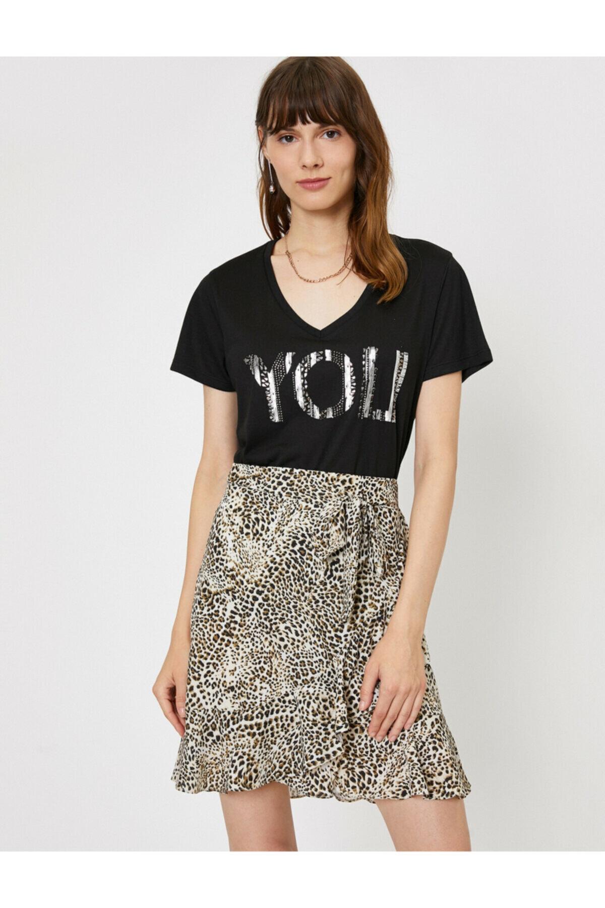 Koton Islemeli T-shirt 2