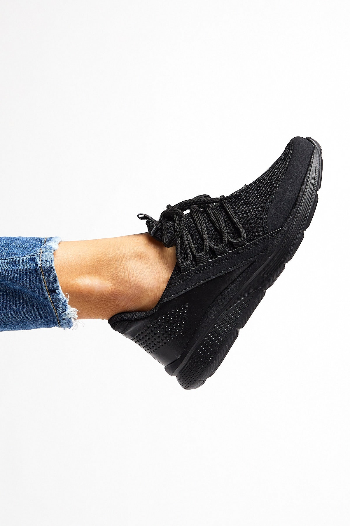Tonny Black Siyah Unısex Spor Ayakkabı Tb180 1