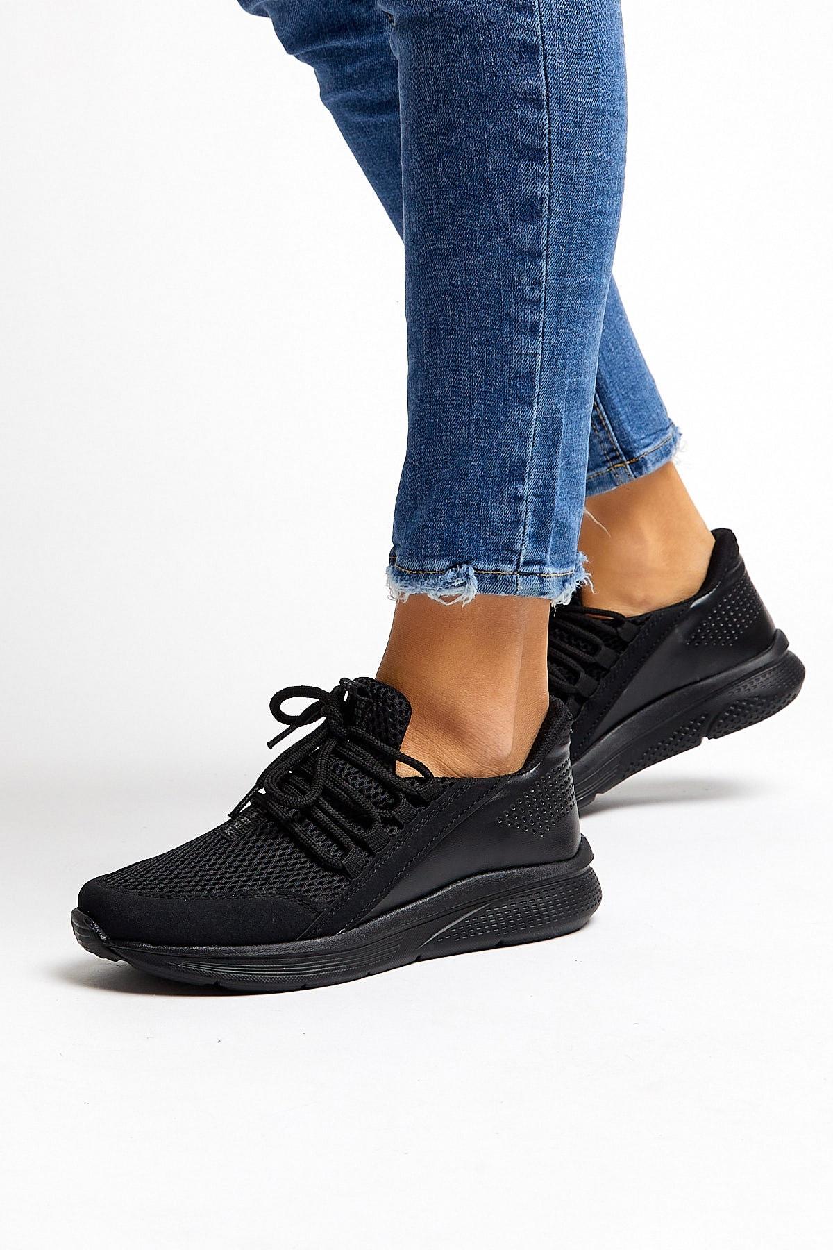 Tonny Black Siyah Unısex Spor Ayakkabı Tb180 2