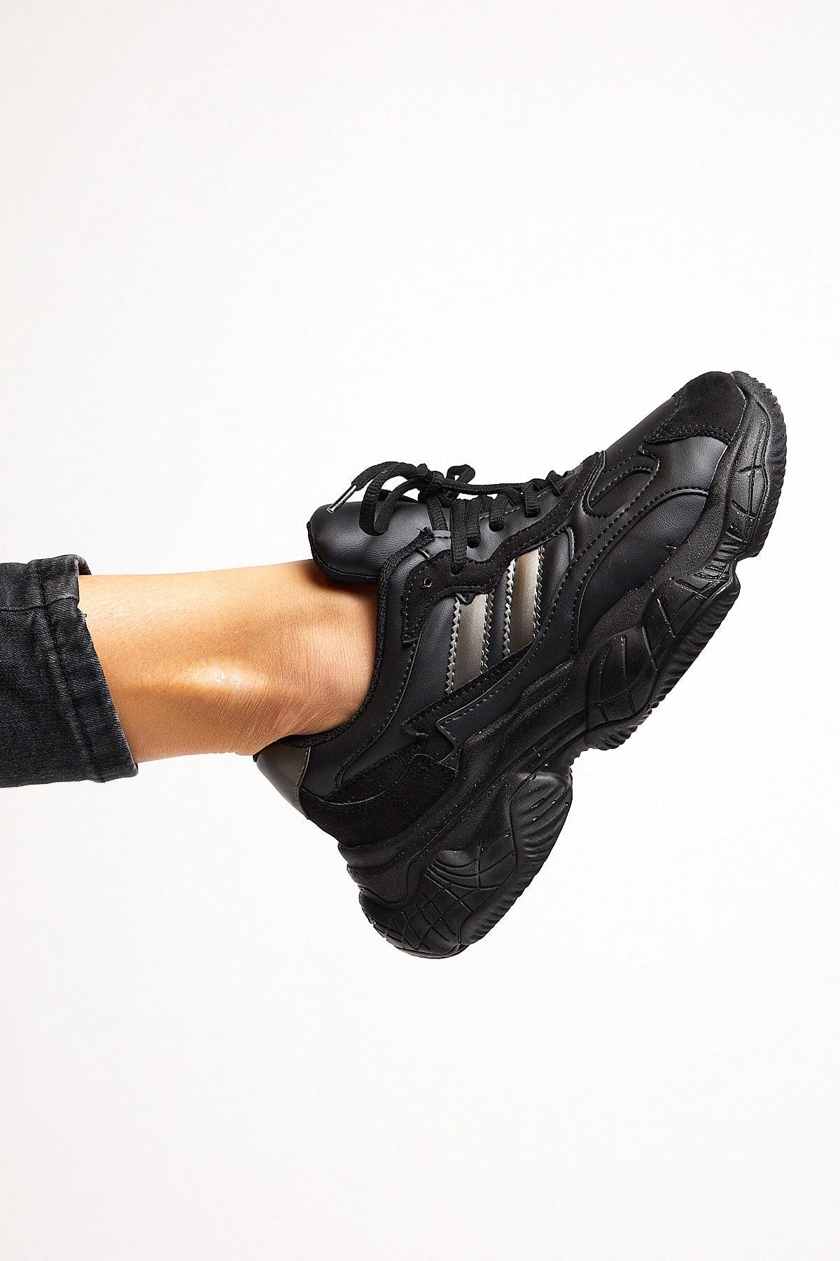 Tonny Black Kadın Siyah Spor Ayakkabı Tb246 1