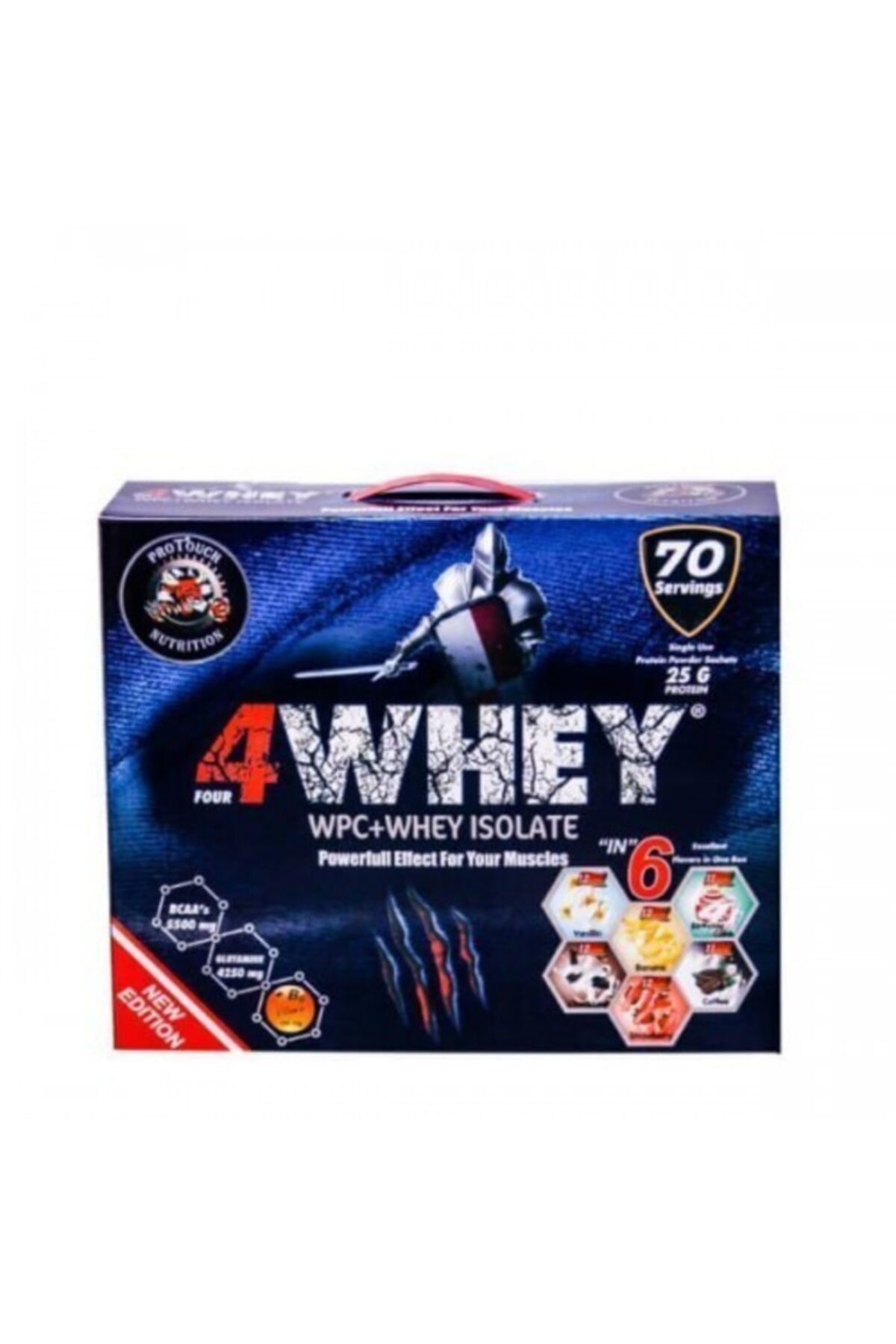 PROTOUCH 4whey 2450 gr 70 Şase 4 Aroma 1