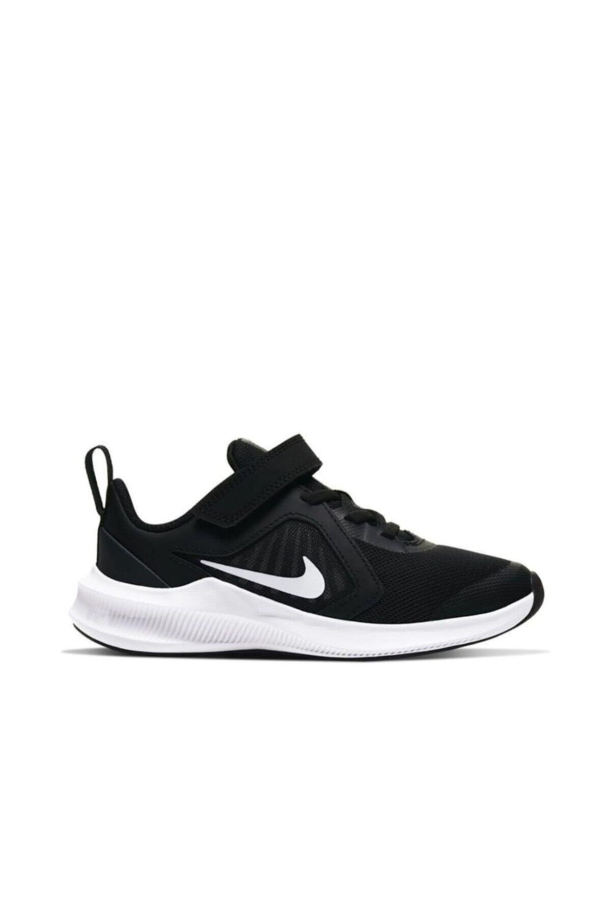 Nike Unisex Çocuk Siyah Downshifter 10 (psv) Spor Ayakkabı Cj2067-004 1