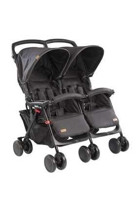 Kraft Pair İkiz Yan Yana Bebek Arabası