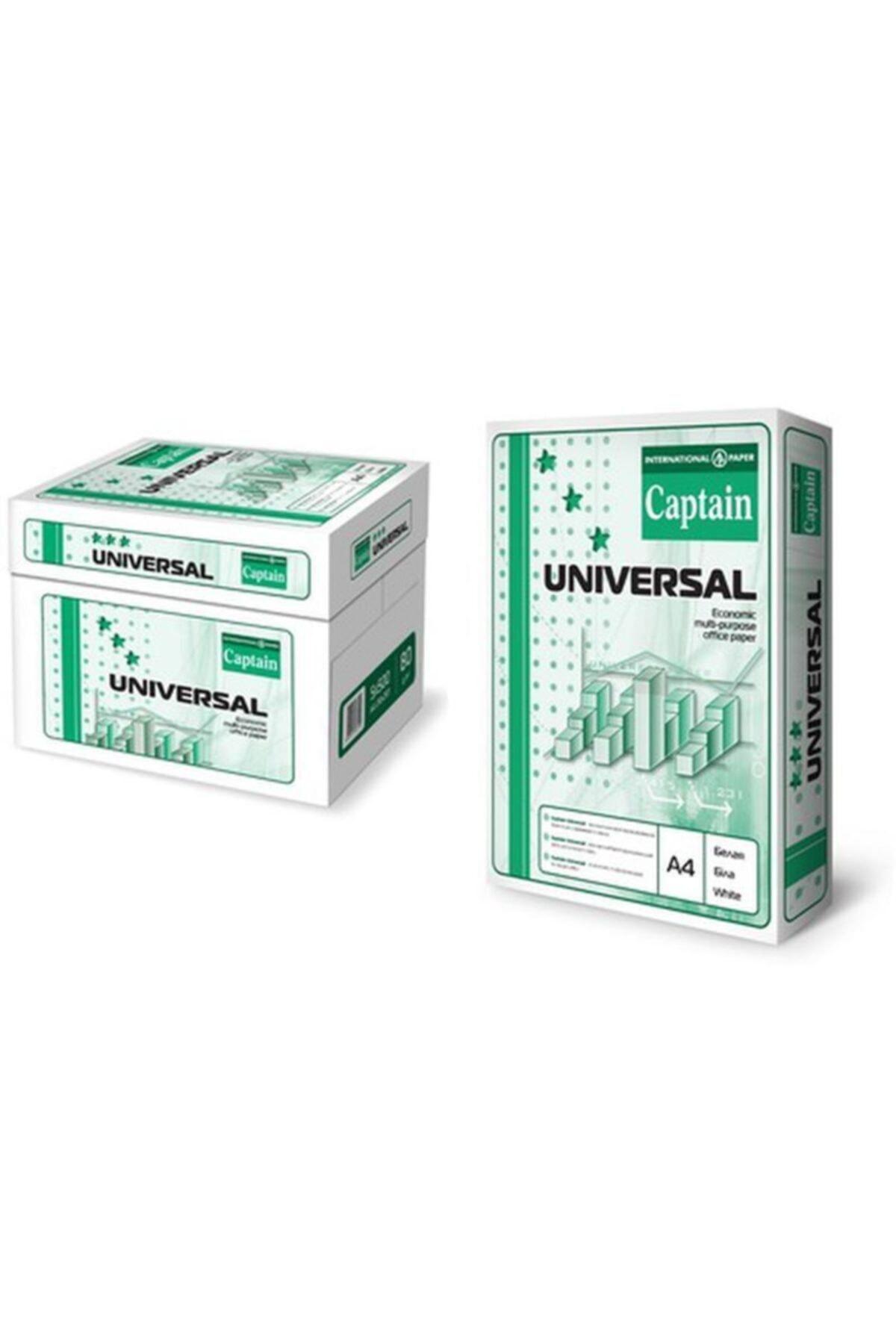 Universal Captain A4 Fotokopi Kağıdı 80gr 1 Koli(5 Paket-2500syf) 1