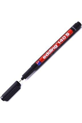 Edding Asetat Kalemi E-140s Siyah Cd Kalemi Ince Uçlu Permanent