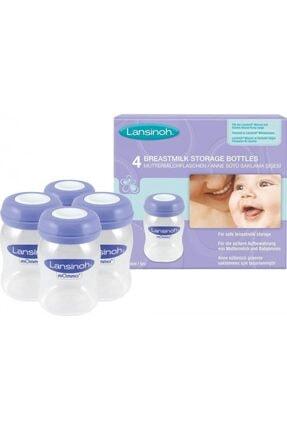 LANSINOH Anne Sütü Saklama Şişeleri 4lü