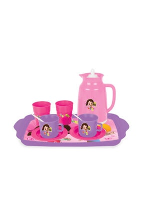 NILOYA Lisanslı Oyun Evcilik Çay Seti