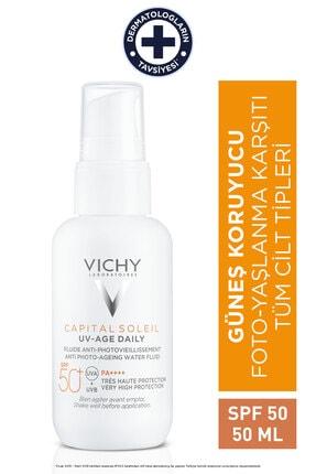 Vichy Capital Soleil Uv Age Daily Spf50+ 40 ml