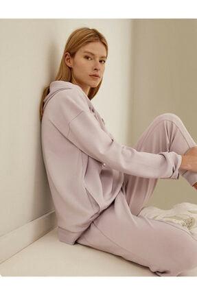 Koton Kadın Mor Sweatshirt