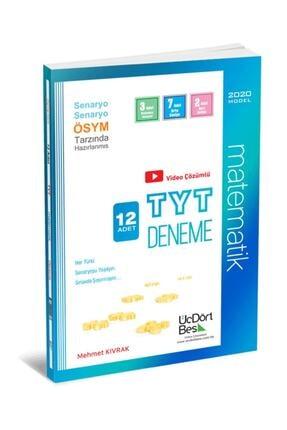 Üç Dört Beş Yayıncılık Üçdörtbeş Yayınları Tyt Matematik 12 Adet Deneme