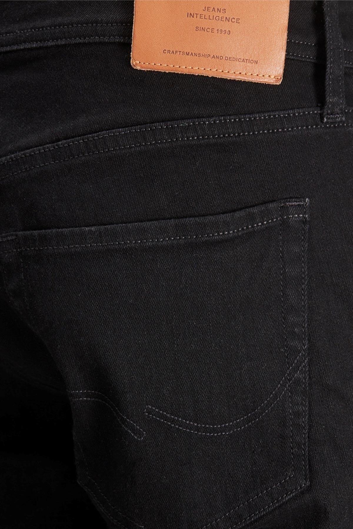 Jack & Jones Erkek  Siyah Jean Pantolon 12182691 2