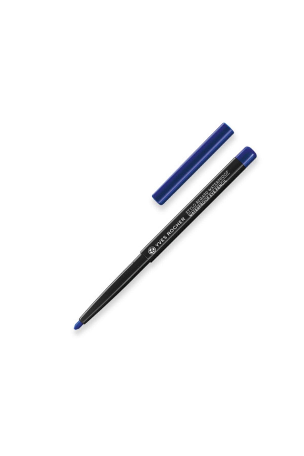 Yves Rocher Suya Dayanıklı Asansörlü Göz Kalemi- Mat Mavi 0.3 g 3660005402024 1