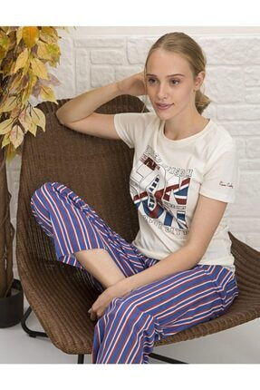 Pierre Cardin Pijama Takım Ev Kıyafeti Pc.1077