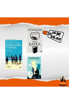 İş Bankası Kültür Yayınları Sineklerin Tanrısı Dönüşüm Satranç Oku Bitir Seti