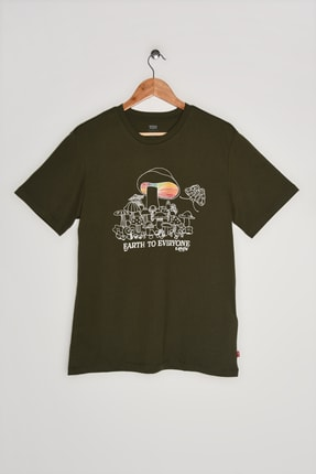 Levi's Erkek Graphıc Crewneck Tee Lse_Ssnl Mv Logo F T-Shirt 22491-0956