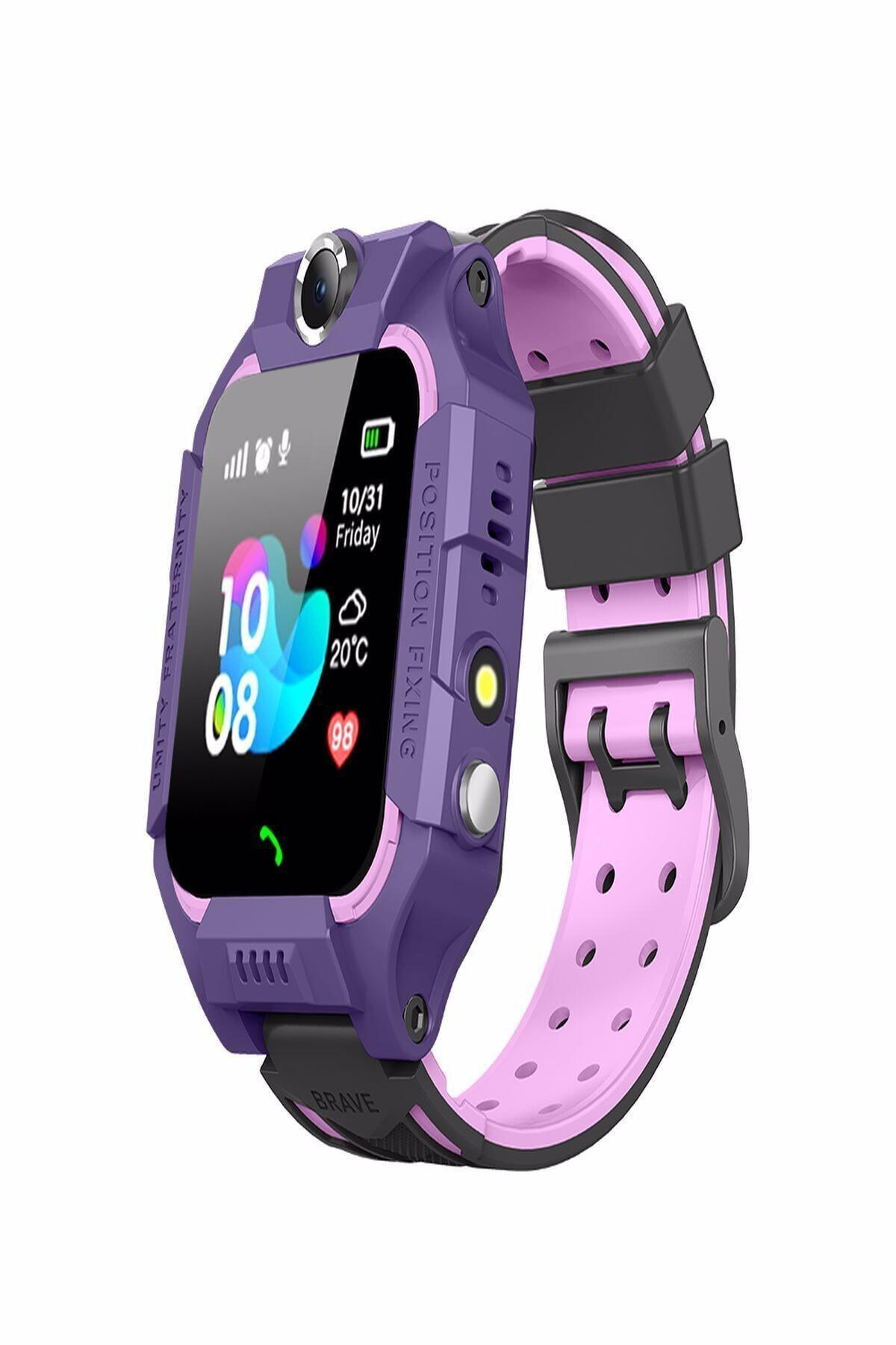Onkatech Q500s/2021 Akıllı Çocuk Takip Saati Pembe Ekran Koruyucu HEDİYELİ 1