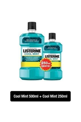 Listerine Cool Mint Ağız Bakım Suyu 500+250 ml
