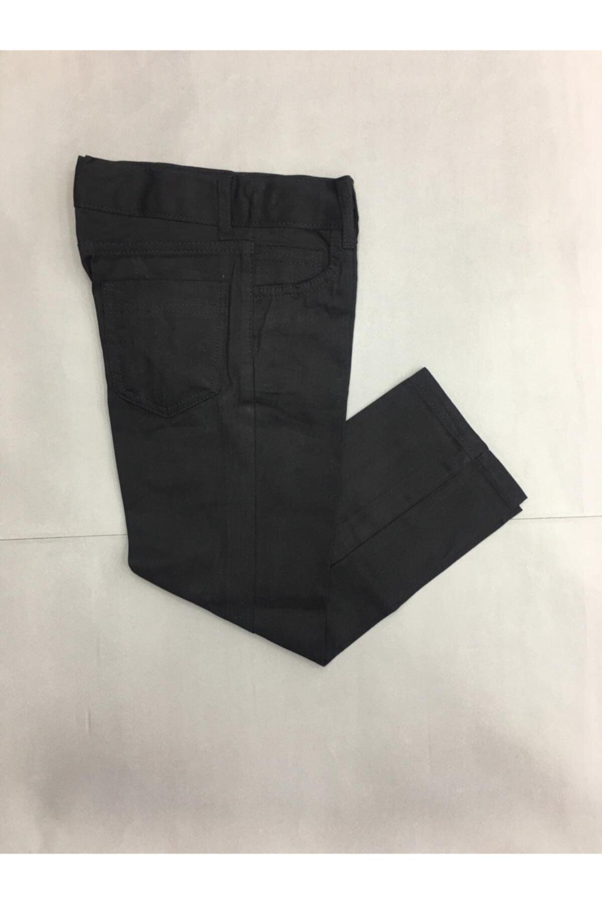 Gökkuşağı Düz Renk Keten Pantolon 1
