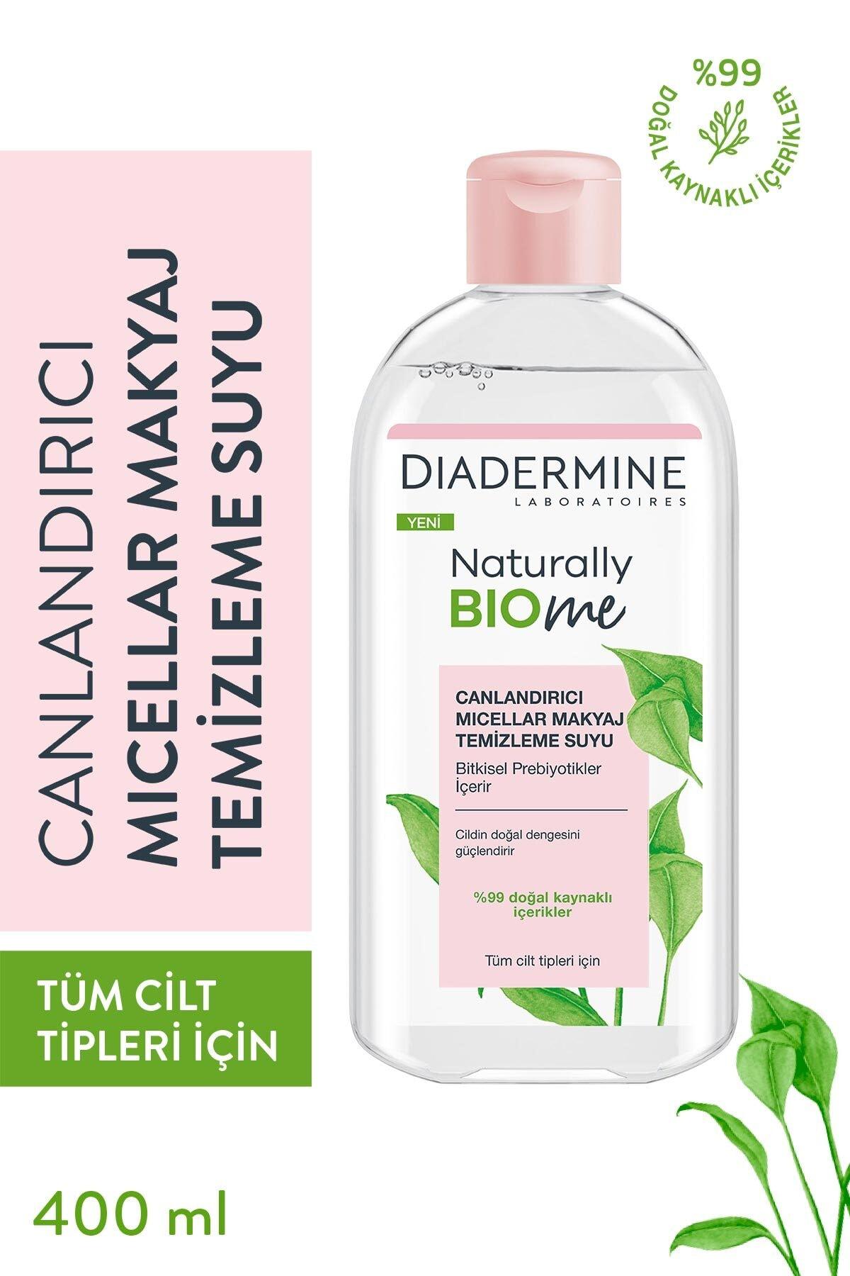 Diadermine Naturally Bio Me Canlandırıcı Micellar Makyaj Temizleme Suyu 1