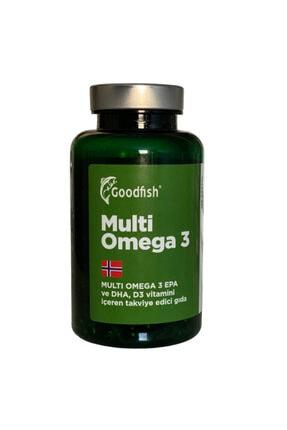 Goodfish Multi Omega 3, 120 Kapsül, E D3 Ve A Vitamini