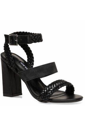 Nine West BAILEY 1FX Siyah Kadın Sandalet 101006790