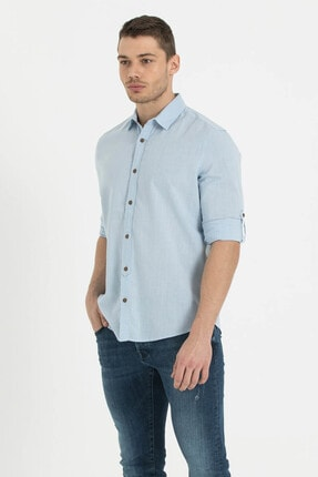 Loft Erkek Gömlek Lıght Blue Lf2010395