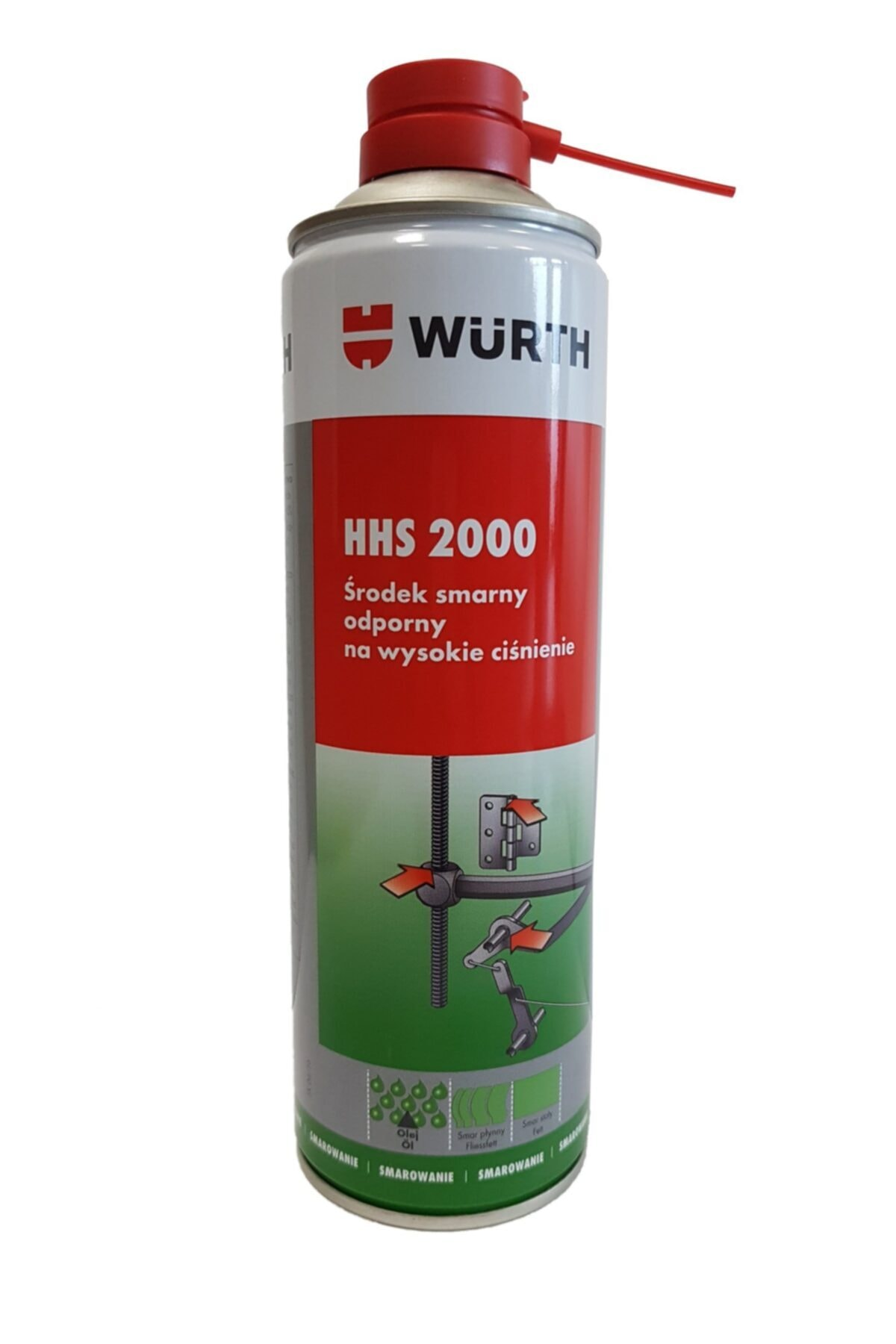 Würth Hhs 2000 Sıvı Gres 500 Ml 0893 106 2