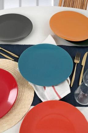 Keramika Mix Ege Servis Tabağı 26 Cm 6 Adet