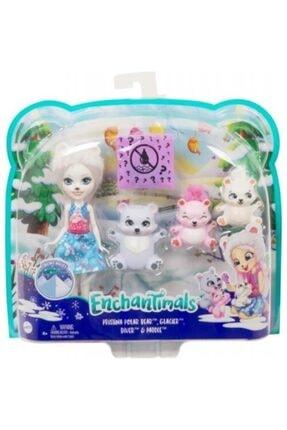 Enchantimals Aile Serisi Pristina Polar Bear Gjx47 Mattel