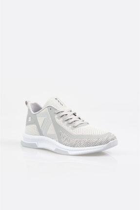 Avva Erkek Açık Gri Yazı Detaylı Spor Ayakkabı A11y8001