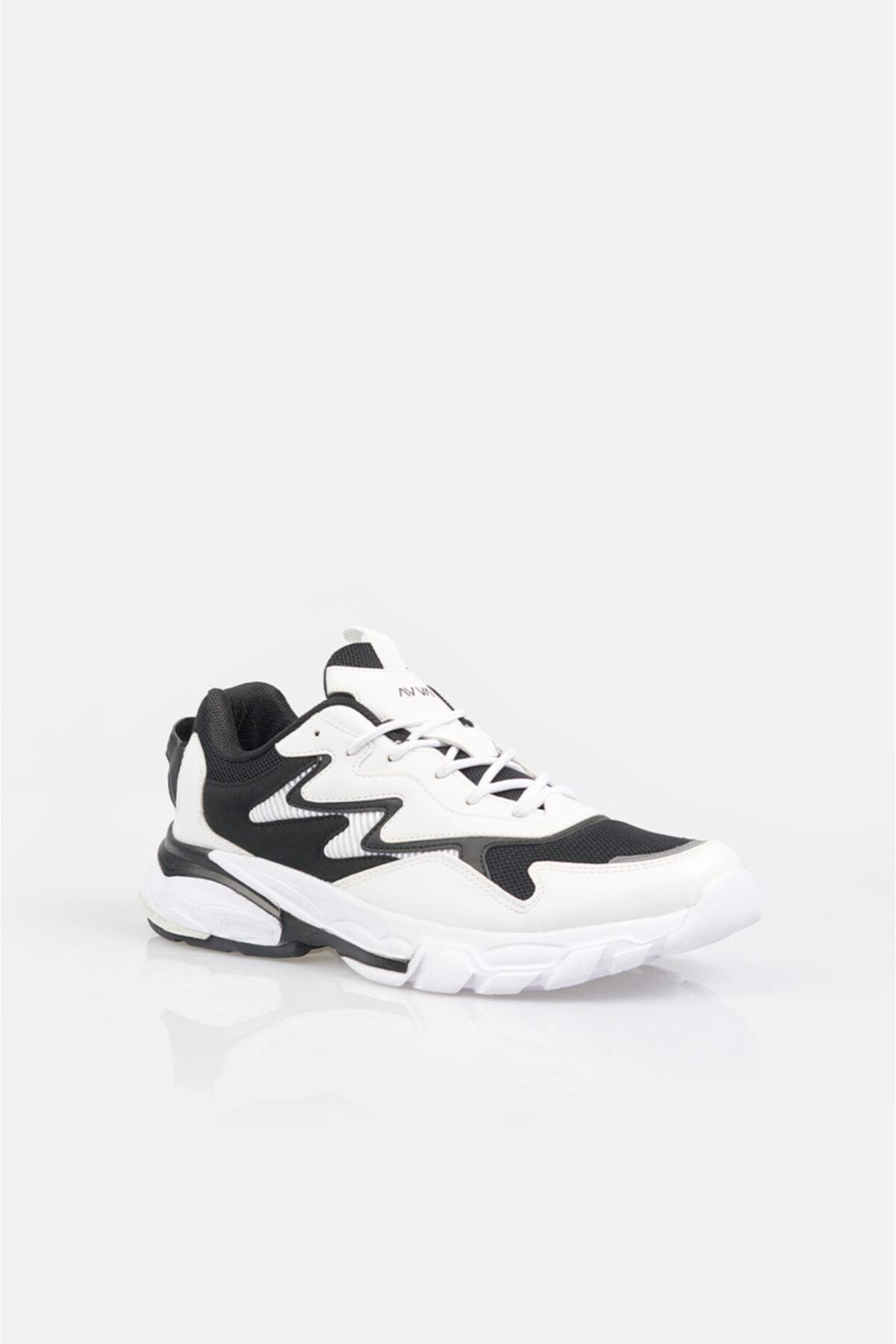 Avva Erkek Beyaz Garnili Spor Ayakkabı A11y8011 1