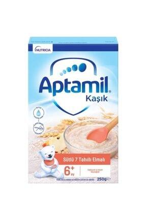 Aptamil Aptamıl Kaşık Sütlü 7 Tahıllı Elmalı 250g
