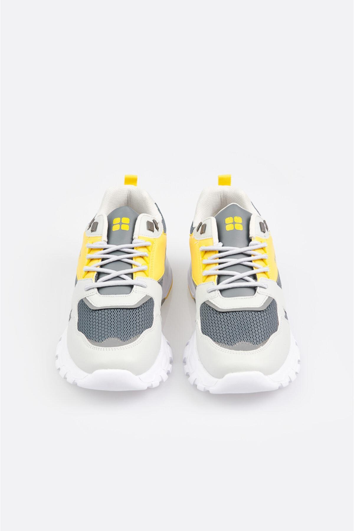 Avva Erkek Gri Garnili Spor Ayakkabı A11y8012 2
