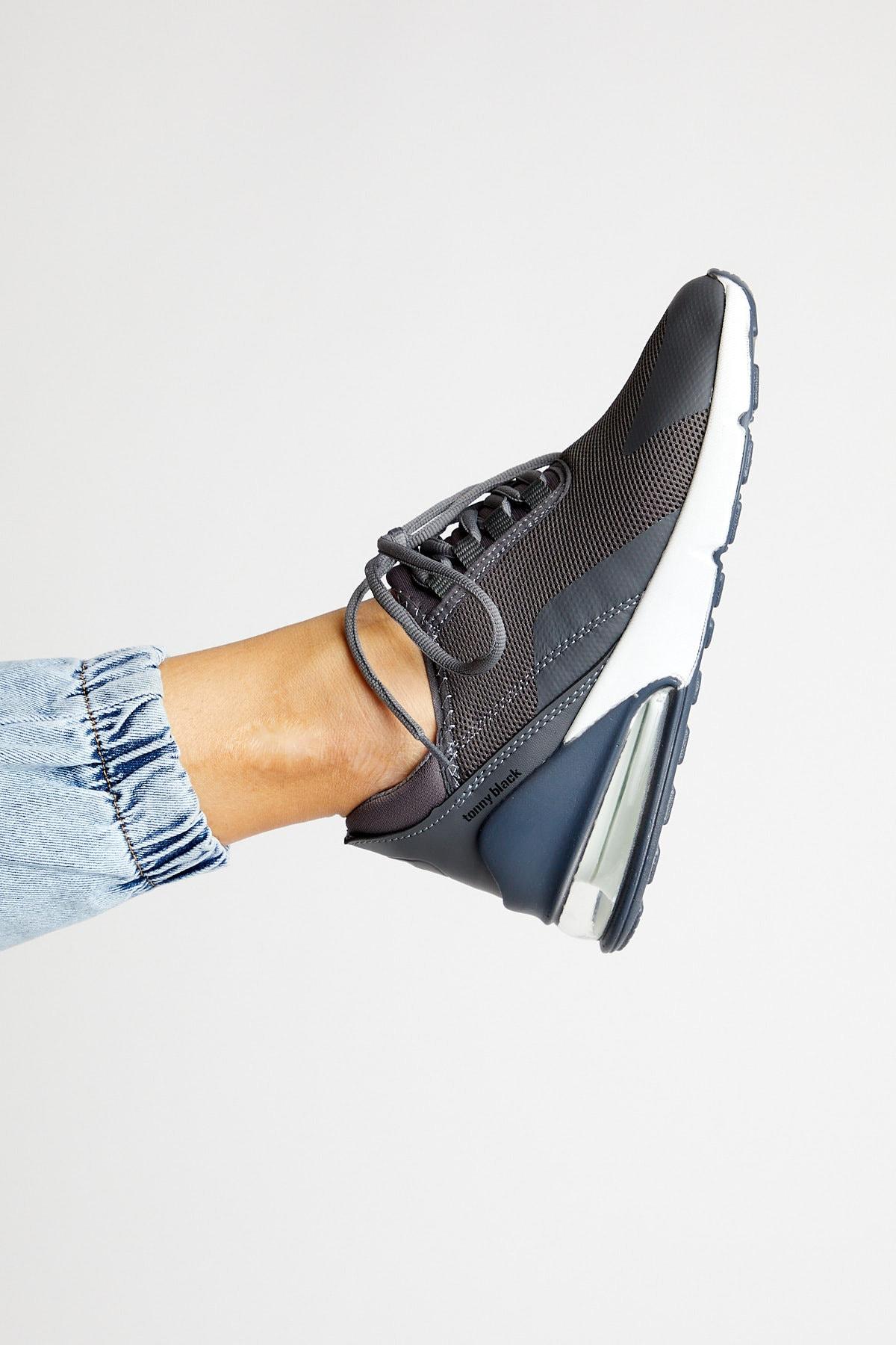 Tonny Black Füme Unısex Spor Ayakkabı Tb270 1