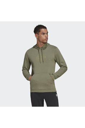 adidas M Bb Hd Sw Erkek Yeşil Günlük Stil Sweatshirt Gd3846