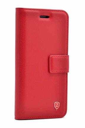 LG G5 Uyumlu Kapaklı Kılıf Standlı Cüzdan Mıknatıslı Kapatma Kopçası Krmz