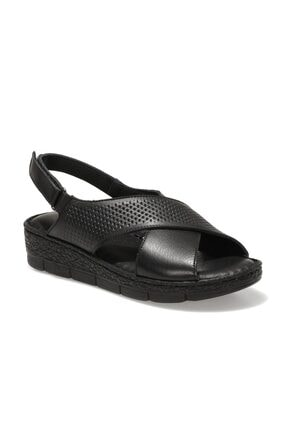 Polaris 161850.Z1FX Siyah Kadın Sandalet 101019827
